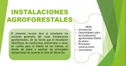 Instalaciones Agroforestales