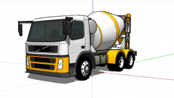 Camion mezclador