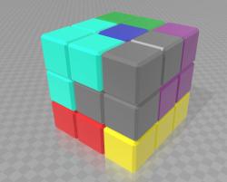 Figuras de cubo soma