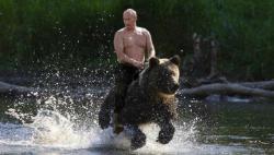 Putin un domingo por la tarde