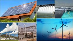 tipos de energia renovables