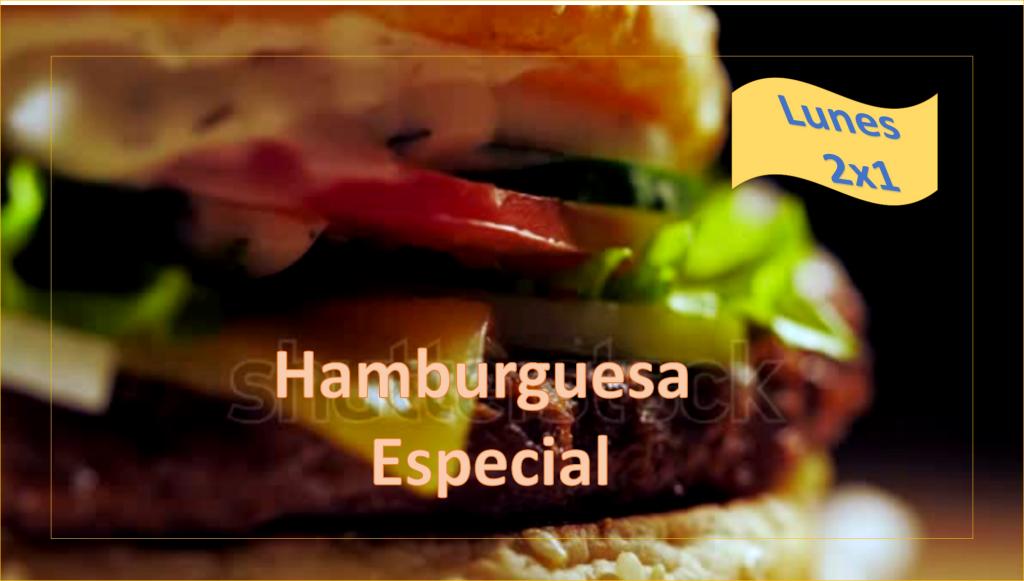 hamburgesa rica