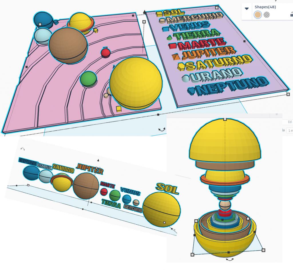 Sistema solar háptico