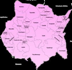 Mapa de Cuernavaca