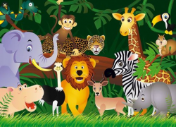 THE ANIMALS OF THE JUNGLE