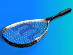 3D Raqueta y pelota
