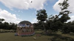 Vivienda domo 3D