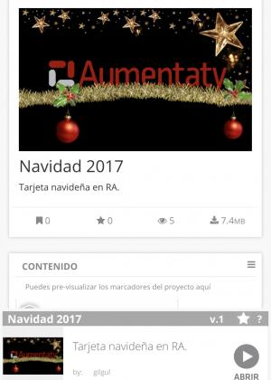 Navidad en realidad aumentada | Aumentaty